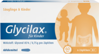 GLYCILAX Suppositorien für Kinder